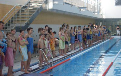 Plavecké závody v Uherském Hradišti 2011