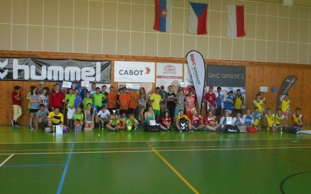 Turnaj v házené podpoří ČSH a Česká olympijská nadace